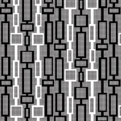 mid-century modern fabric by j-andrew on Spoonflower - custom fabric would be an interesting wall pattern, grey walls with white boxes could do with painters tape. Mid Century Modern Fabric, Mid Century Art, Mid Century Modern Furniture, Mid Century Modern Design, Plywood Furniture, Entryway Furniture, Textile Patterns, Modern Patterns, Quilt Patterns