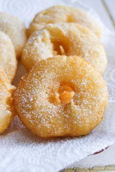 beignet aux pommes