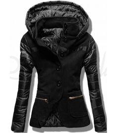 Kabát 2102 čierny