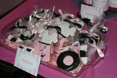 sock hop cookies- okay Tracey these are right up your alley.