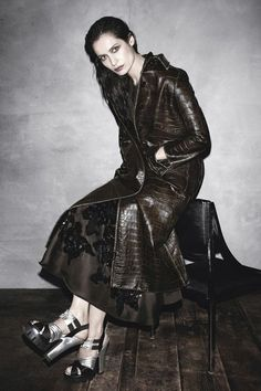 Prada Fall Winter 2013 Campaign by Steven Meisel | Popbee - a fashion, beauty blog in Hong Kong.