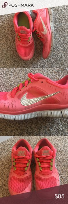 the latest 30387 87910 Bling women s Nike free run 3 Women s Nike free run 3 bright gorgeous color!  Just. Nike SignsNike Free Run 3Air MaxNike WomenAthletic ShoesSwarovski ...