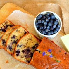 Blueberry Nut Bread