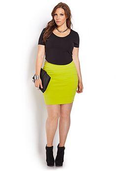 Must-Have Bandage Skirt | FOREVER 21 - 2000061938