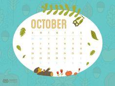 October Desktop Freebie Desktop, October, Mindfulness, Articles, Awareness Ribbons