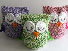 "CROCHET PATTERN -  ""Owl Love You Forever"" Cuddle Pillow Pattern. $4.50, via Etsy."