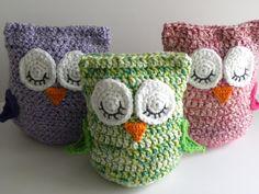 "Crochet Pillows | CROCHET PATTERN - ""Owl Love You Forever"" Cuddle Pillow Pattern"