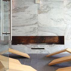 Centro Benessere Le Club - I MARMI DI REX  #marble #tile #tiles #piastrelle #effettomarmo #marmo #bianchi #bianco #white #pavimento #rivestimento #parete