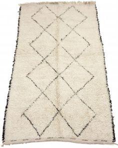 Kelim Marokkanische Berber Teppich Beni Ouarain 290 x 180 cm