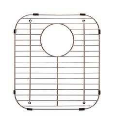 The Franke FGD75 grid protects your sink bottom. This grid fits into the bottom of sink and has an opening for the sink drain. Grid also provides a level surface for glasses and dishes. Elkay Sinks, Steel Kitchen Sink, Kitchen Sinks, Kitchen Gadgets, Sink Mats, Kitchen Sink Accessories, Double Bowl Sink, Sink Top, Sink Drain