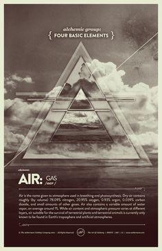 "Elements Air:  ""Vintage Series: Four Basic #Elements - #Air,"" by Raul Esquivel."