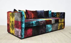 Gothic Patchwork Sofa by namedesignstudio on Etsy https://www.etsy.com/listing/239398560/gothic-patchwork-sofa