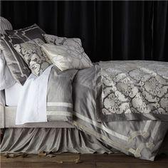 Lili Alessandra Versailles Silver Duvet Cover