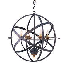 Hartmann crystal orb chandelier hartmann pinterest for Contract decor international inc