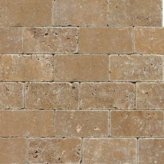 "View the Daltile T311-36TS1P Travertine Noce 6"" x 3"" Small Tumbled Stone Multi-Surface Tile at Build.com."