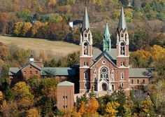 Holy Hill in Wisconsin