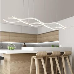 This fixture is powerful! Coming in with 2 x 35 watt LED drivers, its sure to bring beautiful warm white lighting to any surface or room, even those big living rooms. Perfect for kitchen centerpieces…More Interior Deluxe, Living Dining Room, Home Decor Styles, Modern Light Fixtures, Modern, Small Condo Decorating, Interior Design, Dining Room Lighting, Home Decor