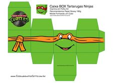 Michelangelo, Paper Toys, 2nd Birthday, Party Favors, Logos, Turtles, Pasta, Party Ideas, Create