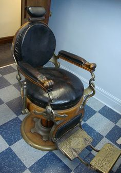 Koken Barber's Chair by Hear and Their, via Flickr