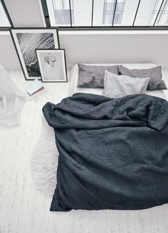 Grayscale bedroom