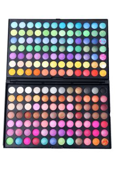 To find out about the 168 Color Makeup Cosmetics Eyeshadow Palette at SHEIN, part of our latest Eyeshadow ready to shop online today! Makeup Eyeshadow Palette, Makeup Dupes, Makeup Kit, Makeup Cosmetics, Makeup Brushes, Beauty Makeup, Top Beauty, Matte Eyeshadow, Eyeshadows
