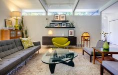 28 60s Style Living Room.jpeg (940×553)   Rendering / Scenes   Pinterest    Interiors, Living Rooms And Room