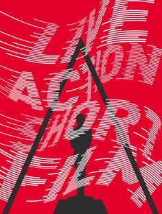 A series of typographic posters created for The 2016 Oscars