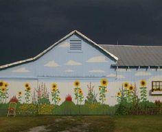 Sunflower Barn