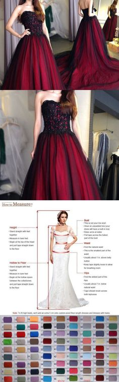 Sexy Women Dresses: Long Black And Red Evening Formal Party Cocktail Dress Bridesmaid Prom Gown BUY IT NOW ONLY: $99.0