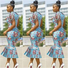 Très Belle Ankara Styles To Rock This Season - AfroCosmopolitan African Fashion Designers, African Fashion Ankara, Latest African Fashion Dresses, African Dresses For Women, African Print Dresses, African Print Fashion, Africa Fashion, African Attire, African Wear