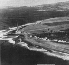 Vista del Maspalomas y el faro (1930). San Bartolomé de Tirajana. Gran Canaria
