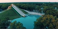 This Crazy Texas Waterslide Launches Riders Into the Sky  - CountryLiving.com