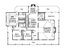 House Plan chp-55095 at COOLhouseplans.com