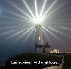 Lighthouse's Flares In The Night