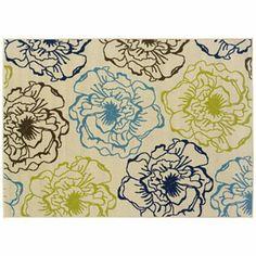 Oriental Weavers Caspian Floral Indoor Outdoor Rug - 5'3'' x 7'6''  Kohl's $181.99