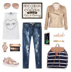 Dresscode: Modena by agi-szabo on Polyvore featuring Ally Fashion, River Island, Geox, Boohoo, Michael Kors, H&M, Napoleon Perdis, Coolpad Modena