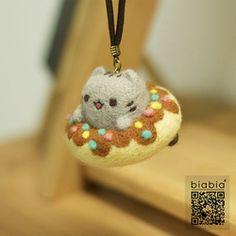 Online Shop Biabia poke fun wool felt diy material handmade materials kit dolls donuts|Aliexpress Mobile