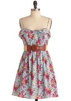 Handpicked Paintings Dress...so pretty. Might just order it for a wedding I'm going to Memorial day weekend