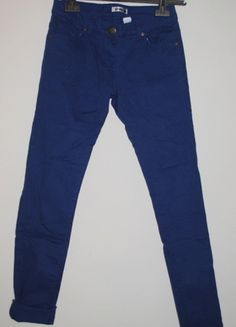Kup mój przedmiot na #vintedpl http://www.vinted.pl/damska-odziez/rurki/7145464-niebieskie-spodnie-rurki-sinsay-rozm-36-s-kobaltowe