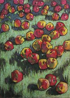 Buy Persimmon, Pastel drawing by Natalia Leonova on Artfinder. Discover thousands of other original paintings, prints, sculptures and photography from independent artists. Pastel Drawing, Pastel Art, Paintings For Sale, Original Paintings, Pastel Crayons, Scripture Art, Illustrations And Posters, Teaching Art, Lovers Art