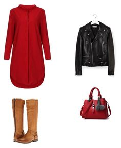 """""""seis"""" by maria-l-v on Polyvore featuring moda, Frye y Yves Saint Laurent"""