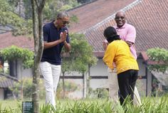 President Barack Obama ... photos, videos & a word or two