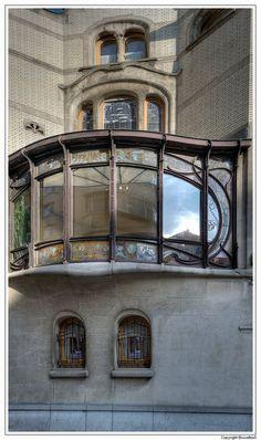 HOTEL HANNON 1903/04 - Jules Brunfaut - Verbindingslaan 1 Sint-Gillis Brussel