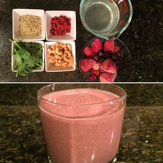 #superfoods #superfoodsmoothie #smoothies #health #hemppowder #healthyoptions #getfit #liveclean #eatclean #eatinghealthy #eatwell #raw #rawfood #fridaysmoothie #gojiberries #cashew #spinach #getfit #getlean #gethealthy #vitamix #livelife #lifestyle #lifeisgood #berriessmoothie  Happy Friday!  1 cup spinach  1 1/2 mixed berries (frozen) 1/3 cup cashews 3 tbsp hemp powder 1 1/2 cup water or coconut water by vitasmoothie