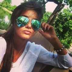 Men Women Vintage Retro Aviator Sunglasses Mirrored Polarized Lens Metal Frame   eBay