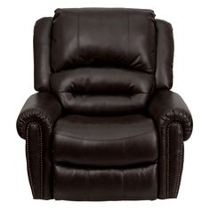 Dutailier Chicago 212 Leather Avantglide Glider With