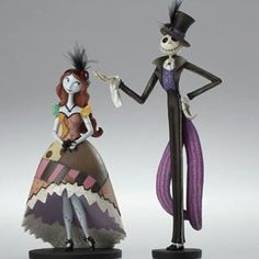 Nightmare Before Christmas Couture de Force Figurines