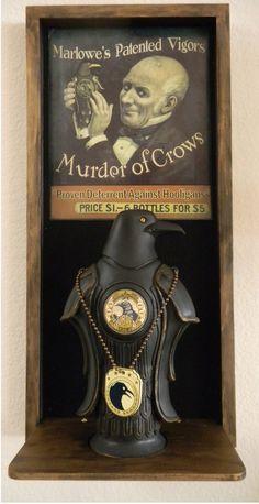BioShock Infinite Murder of Crows Vigor Bottle. Had to sell both kidneys to nab this sucker off Ebay at the last minute.