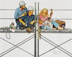 NORMAN ROCKWELL - You've Got To Be Kidding
