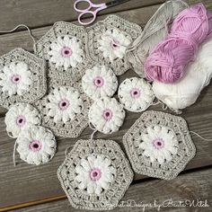 We have loads of gorgeous FREE Crochet Patterns for you to try here in our Crochet Daisy Projects post! They're very versatile and you can use them to make Blankets, Cushions, Granny Squares or lovely Coasters. Check out the Kitchen Set as well and the Vintage Daisy Blanket.
